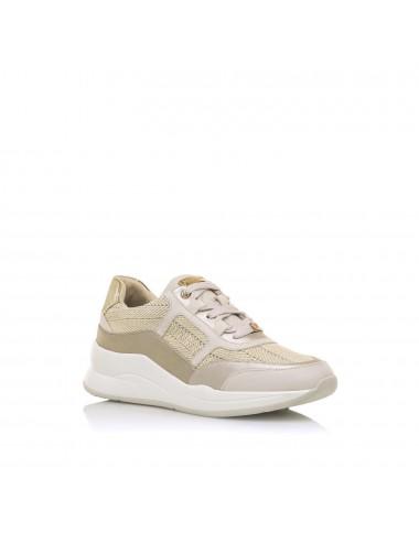Sneakers donna beige