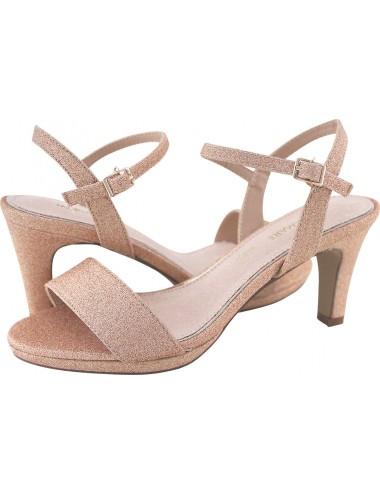 scarpa rosa donna con tacco