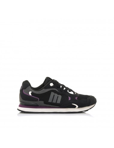 Sneakers donna nere|viola